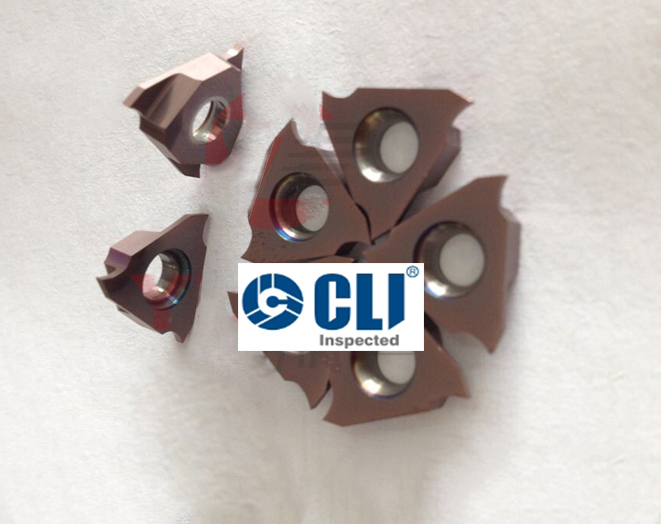 Grooving Inserts for Steel and Stainless Steel